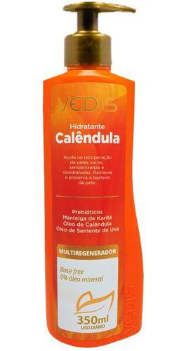 Hidratante Calêndula E Manteiga De Karité 350ml - Vedis