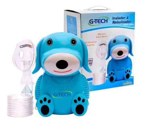 Inalador Nebulizador Nebdog Azul - G-tech