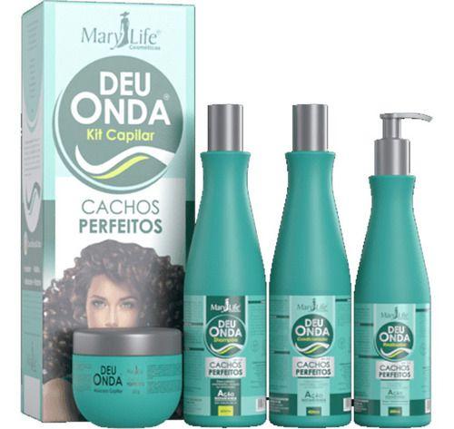 Deu Onda Cachos Perfeitos Kit Capilar - Mary Life