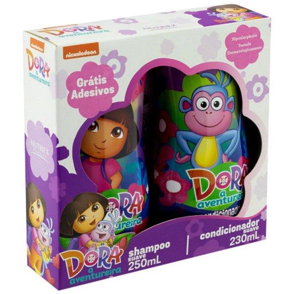 Kit Dora A Aventureira Shampoo E Condicionador - Nutriex