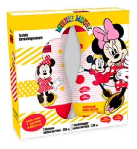Kit Minnie Cachos Shampoo E Condicionador - Nutriex