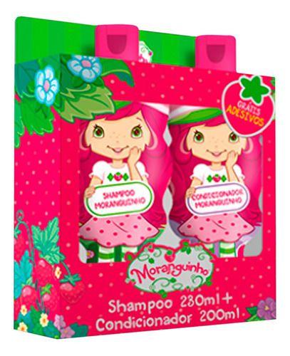 Kit Moranguinho Shampoo E Condicionador - Nutriex