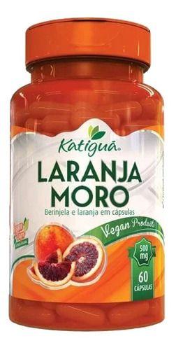 Laranja Moro 500mg 60 Cápsulas - Katigua