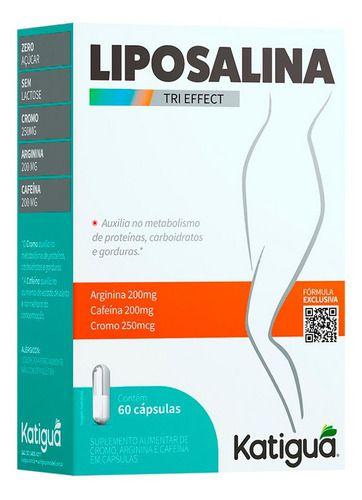 Liposalina Tri Effect 500mg 60 Cápsulas - Katiguá