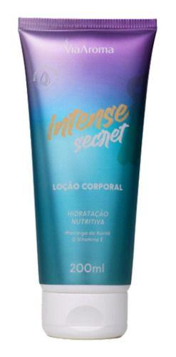 Loção Corporal Intense Secret 200ml - Via Aroma