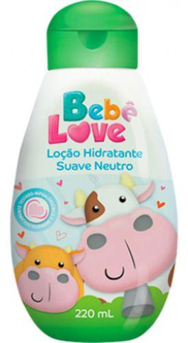 Loção Hidratante Bebê Love Suave Neutro 220ml - Nutriex