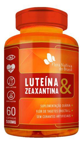 Luteína E Zeaxantina 500mg 60 Cápsulas - Flora Nativa