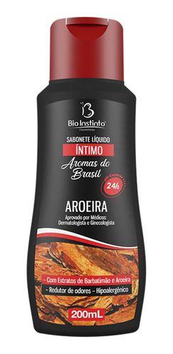 Sabonete Íntimo Líquido Aroeira 200ml - Bio Instinto