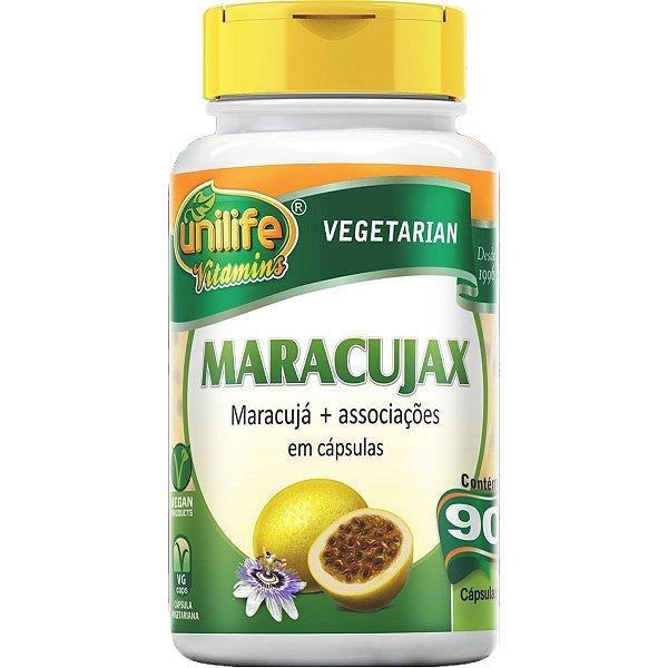 Maracujax 500mg 90 Cápsulas - Unilife