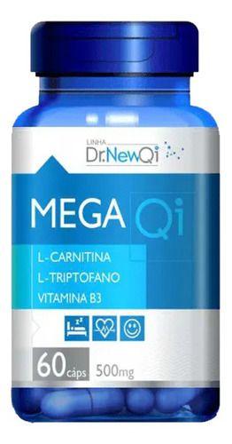 L-triptofano E L-carnitina 60 Cápsulas 500mg - Dr New Qi