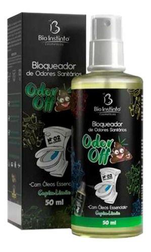 Odor Off Bloqueador De Odor Capim Limão 50ml - Bio Instinto