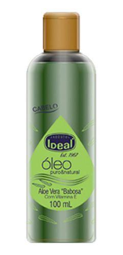 Óleo Aloe Vera Babosa 100ml - Ideal