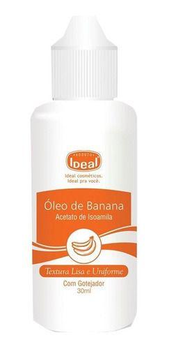 Óleo De Banana Gotas Para Unhas 30ml - Ideal