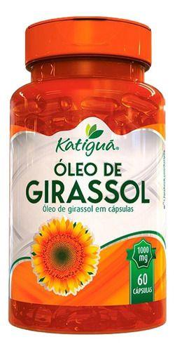 Óleo De Girassol 60 Cápsulas 1000mg - Katigua