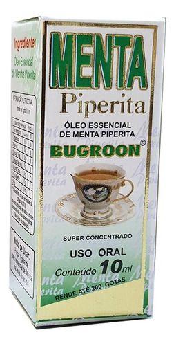 Óleo Essencial Menta Piperita 10ml - Bugroon