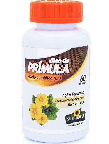 Óleo De Prímula 60 Cáps De 700mg - Sunflower