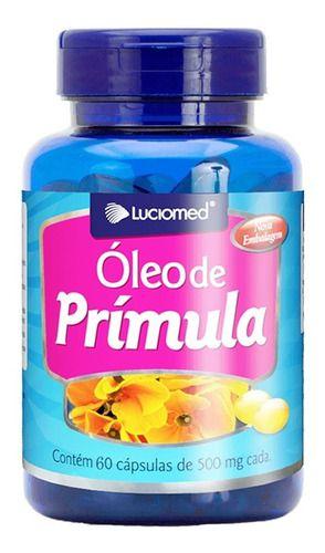 Óleo De Prímula 500mg 60 Cáps - Luciomed