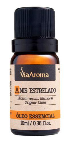Óleo Essencial Anis Estrelado 10ml - Via Aroma