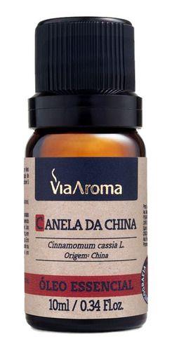 Óleo Essencial Canela Da China 10 Ml - Via Aroma