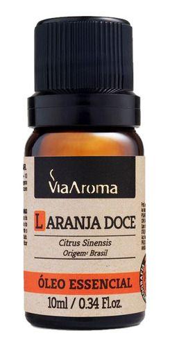 Óleo Essencial Laranja Doce 10ml - Via Aroma