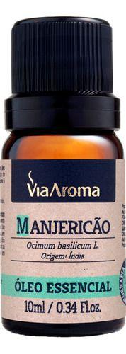 Óleo Essencial Manjericão 10ml - Via Aroma
