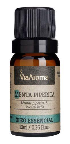 Óleo Essencial Menta Piperita 10ml - Via Aroma