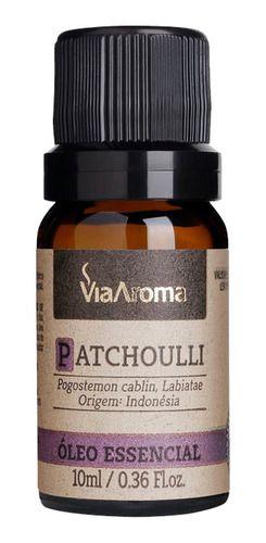 Óleo Essencial Patchoulli 10ml - Via Aroma
