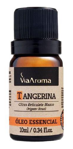 Óleo Essencial Tangerina 10ml - Via Aroma
