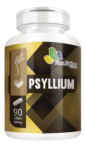 Psyllium 90 Cápsulas 500mg - Flora Nativa