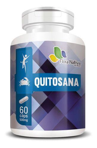Quitosana 500MG 60 Cápsulas - Flora Nativa