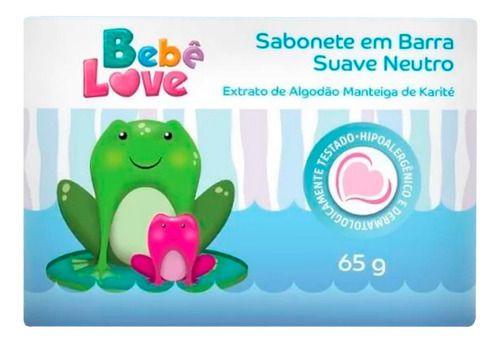 Sabonete Em Barra Suave Neutro Infantil 65g - Nutriex