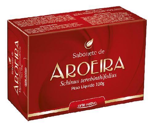 Sabonete De Aroeira 100g - Arte Nativa