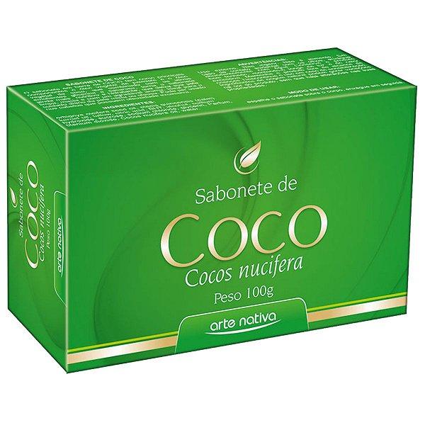 Sabonete De Coco 100g - Arte Nativa