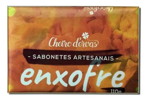 Sabonete De Enxofre 110g - Cheiro D'ervas