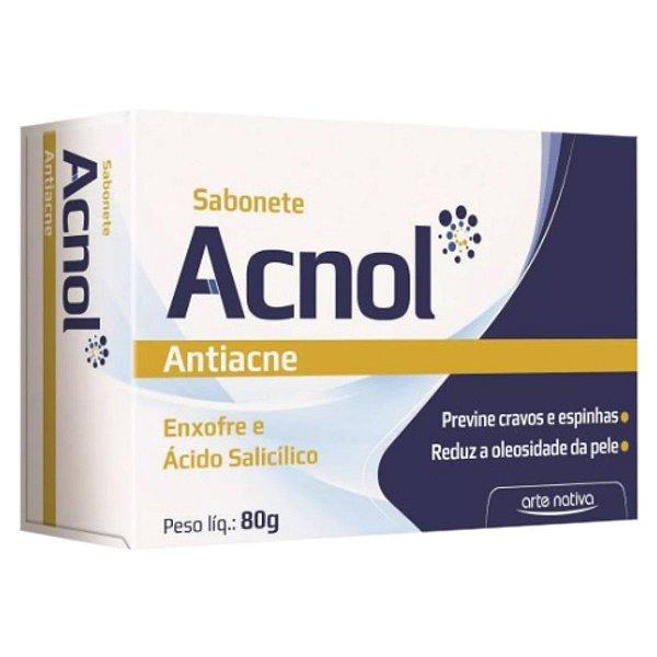 Sabonete Acnol Antiacne 80g - Arte Nativa