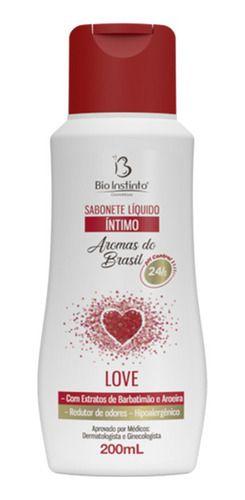 Sabonete Íntimo Líquido Love 200ml - Bio Instinto