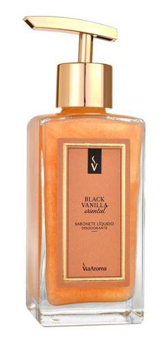 Sabonete Líquido 250ml Black Vanilla - Via Aroma