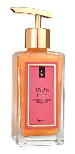 Sabonete Líquido 250ml Flor De Cerejeira - Via Aroma