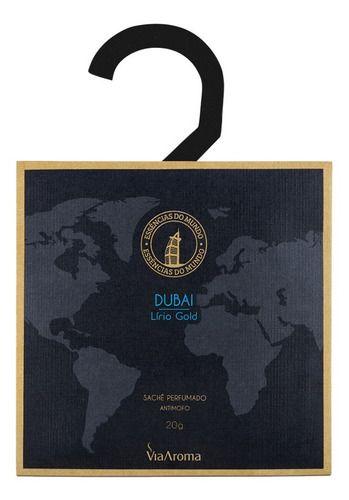 Sachê Perfumado Antimofo Dubai - Via Aroma
