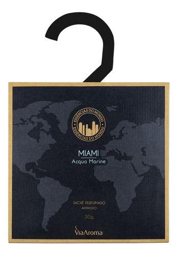 Sachê Perfumado Antimofo Miami - Via Aroma