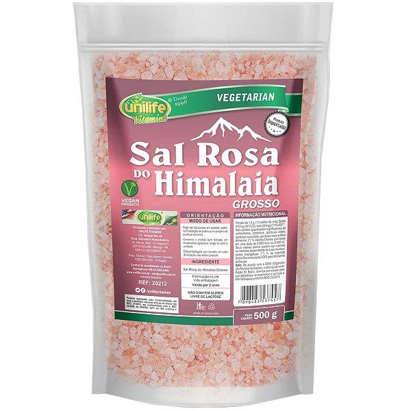 Sal Rosa Do Himalaia Grosso 1kg Original - Unilife