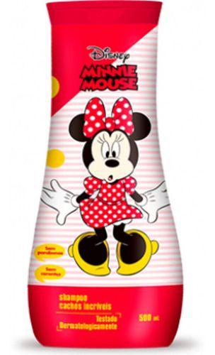 Shampoo Minnie Cachos Incríveis 500ml - Nutriex