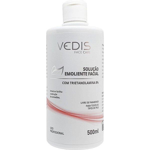 Solução Emoliente Trietanolamina 8% 500ml - Vedis