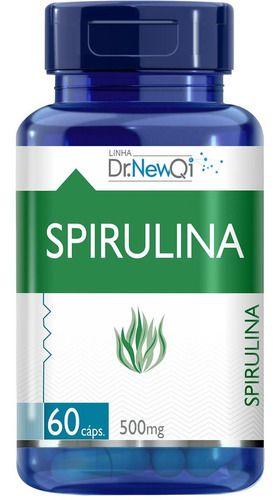 Spirulina 500mg 60 Cápsulas - Dr New Qi