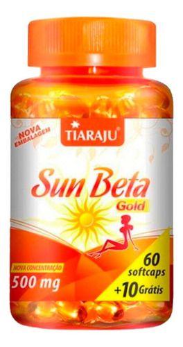 Sun Beta Gold Betacaroteno 500mg 70 Cápsulas - Tiaraju