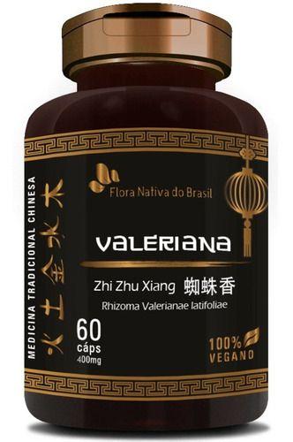 Valeriana 60 Cápsulas 400mg - Flora Nativa