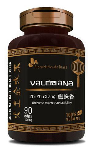 Valeriana 90 Cápsulas 400mg - Flora Nativa