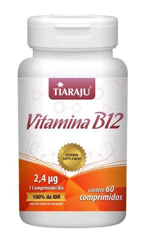 Vitamina B12 60 Comprimidos 250mg - Tiaraju