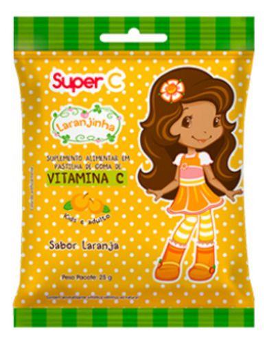 Vitamina C Laranjinha Goma Sabor Laranja 25g - Nutriex