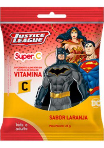 Vitamina C Liga Da Justiça Goma Laranja 25g - Nutriex